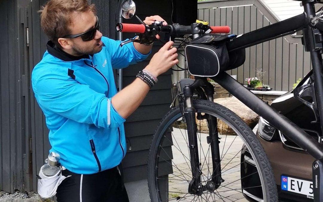 Avreisedagen: Sykkeltur fra Nordkapp til Lindesnes