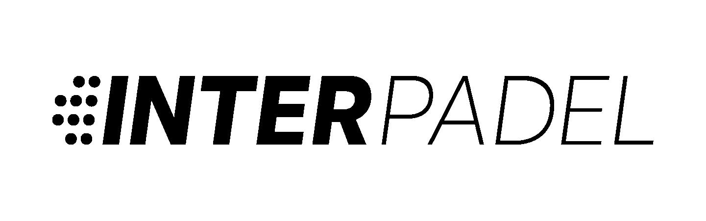 InterPadel Logo Greyscale