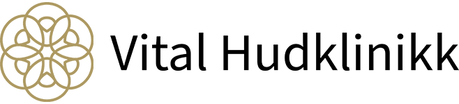 Vital Hudklinikk logo
