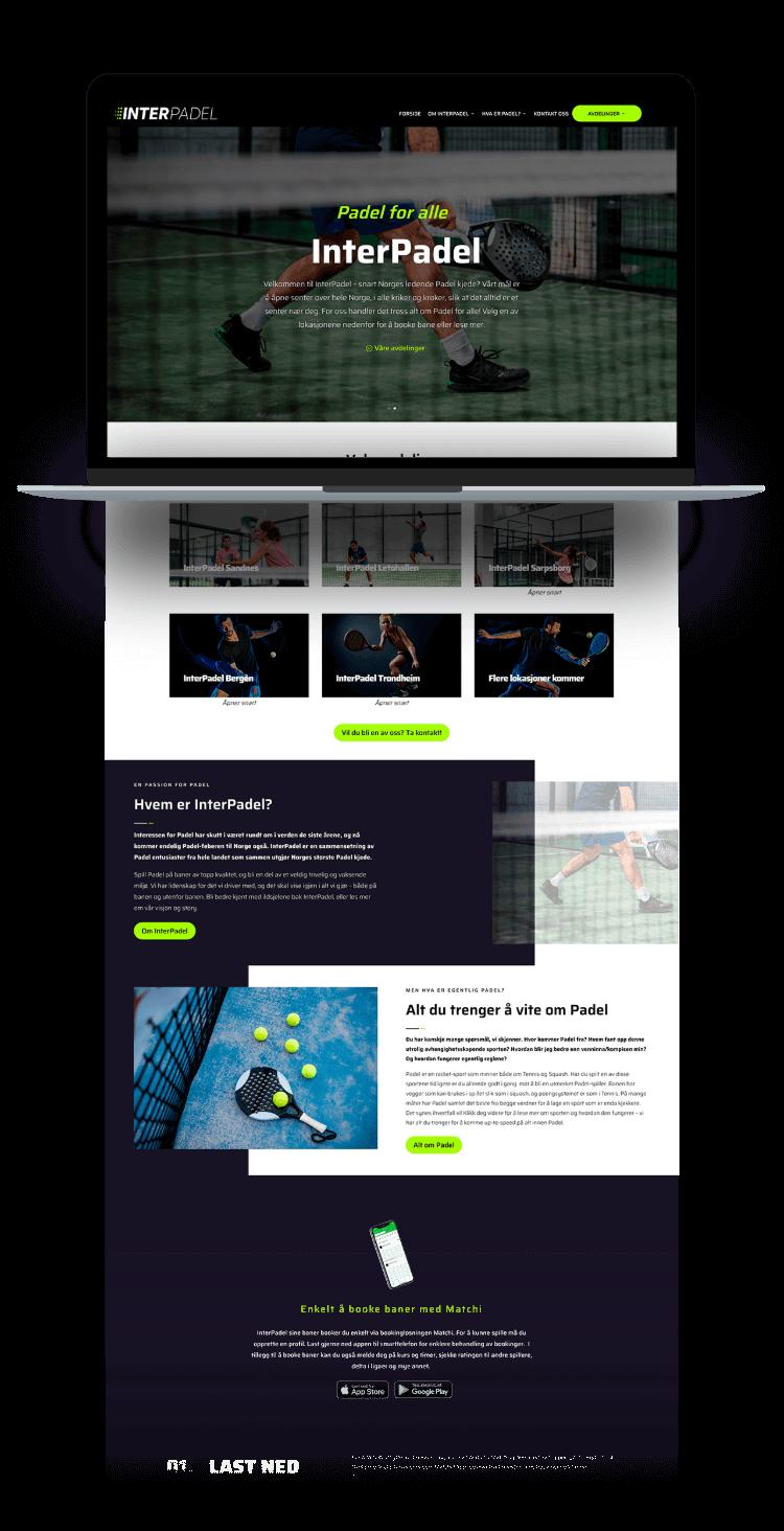interpadel website