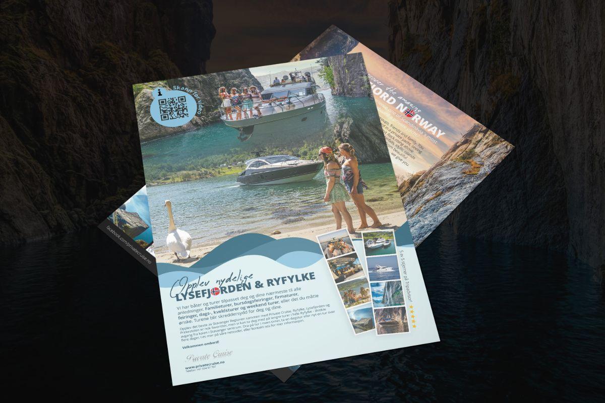 Bølgen Media Private Cruise plakater